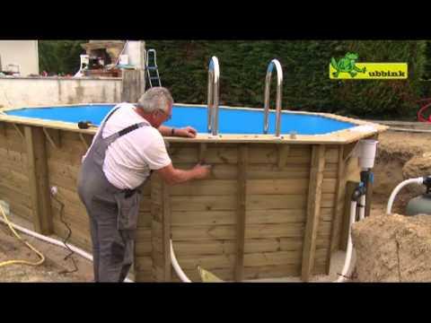 Ubbink Océa 400×610 houten zwembad
