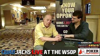 Thor Hansen Overcomes Cancer, Plays The 2012 Main Event QuadJacks Live At The WSOP July 10, 2012