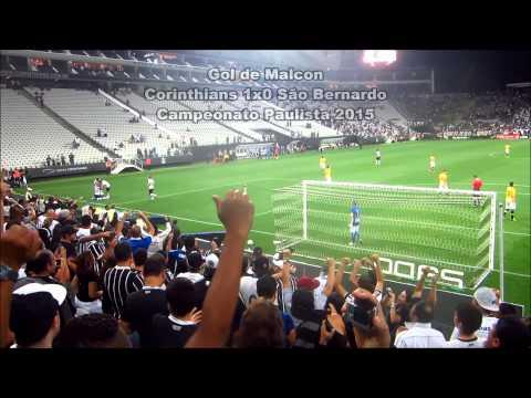 Veja o gol de Malcon contra o São Bernardo do meio da Fiel
