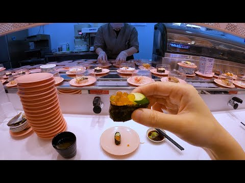$1 Sushi Conveyor Belt Restaurant