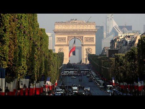 العرب اليوم - بالفيديو: فرنسا تحتفل بعيدها الوطني