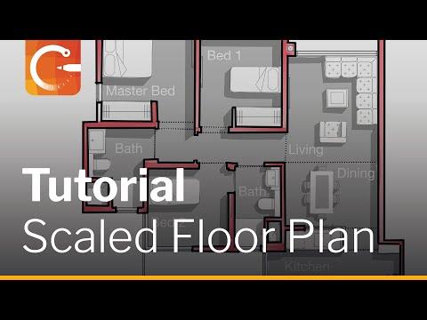 Rendering a Floor Plan | Architect Osama Elfar