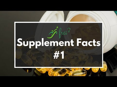 Supplement Facts #1 Vitamin-C Zink B12 L-Lysin | Basis-Programm