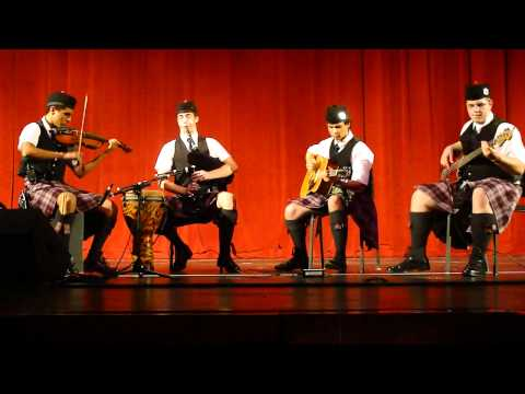 Ceilidh band performance, Wortham Center, Houston TX, 2011