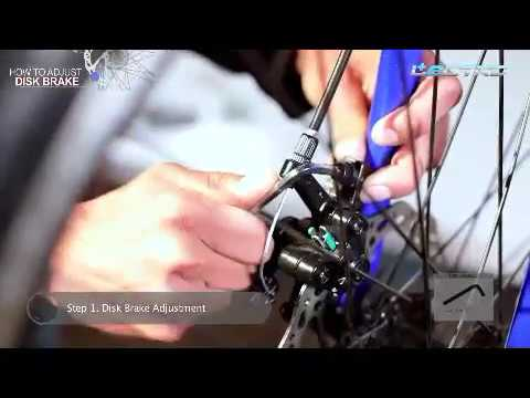Lectro e-cycles - How to adjust disc brake