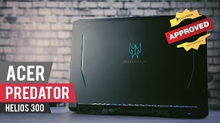 Acer Predator Helios 300 Review - How NOT to ruin a great performance