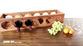 How To Build A DIY Wine Rack