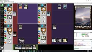 Triangle EDH League - S01G01 - Sissay vs Yawgmoth vs Morophon vs Urza
