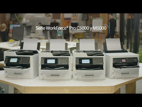 Impresoras Epson Serie WorkForce Pro 5000