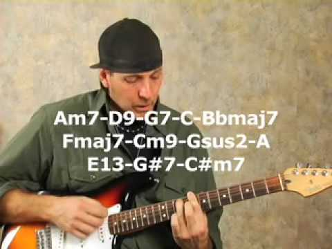 Guitar Lesson - bar chord changing exercises