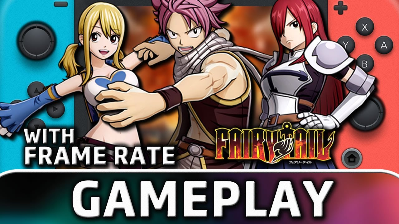 Fairy Tail | Nintendo Switch Gameplay and Frame Rate