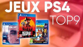 TOP9 : MEILLEURS JEUX PS4 (2019)