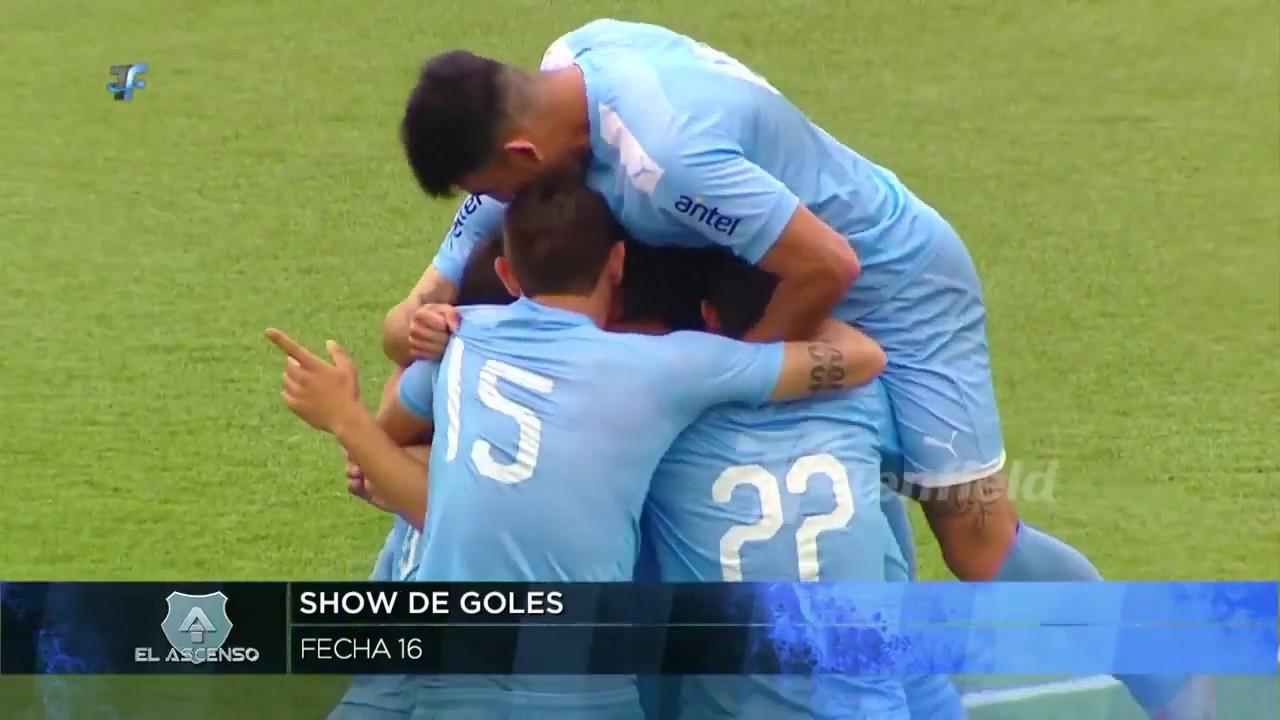 2a División | Show de goles de la 16a fecha