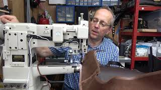 How To Sew Up A Leather Bag By Machine