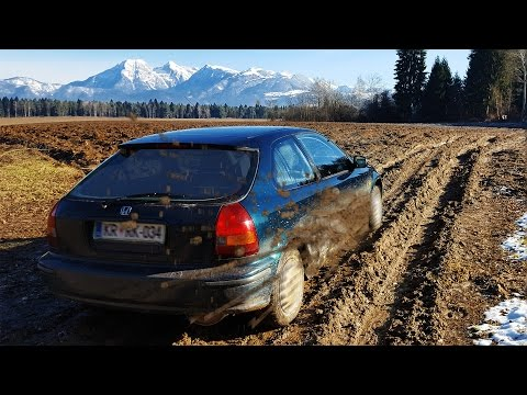Extreme Car Offroad: Honda Civic Vs Impassable Terrain - Episode 1