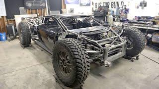 Off-Road Lamborghini Huracan gets a Race Dash