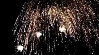 preview picture of video 'St. Peter Ording Silvester 2014 Feuerwerk SPO'