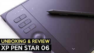 XP Pen Star 06 Tablet【Unboxing & Review】