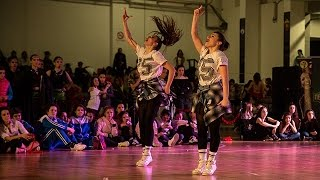 Girlz on the Dancefloor / Hip Hop Duo Senior / Macedonia Open 2015 // AQUA