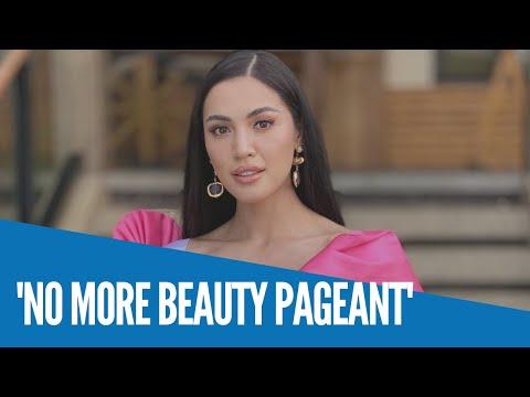 [Inquirer]  WATCH: Miss Universe PH 2020 2nd runner-up Michele Gumabao hindi na sasali sa anumang beauty pageant