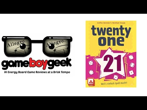 The Game Boy Geek's Allegro (2-min) Review of Twenty One