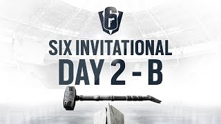 Rainbow Six | Six Invitational 2019 – Groupstage - Day Two – Stream B