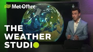 A battlefield of weather this week - The Weather Studio
