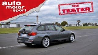 BMW 320d Touring: Nicht mehr ganz frisch, aber äußerst fesch! - Die Tester | auto motor und sport