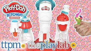 Play-Doh Kitchen Creations Ultimate Swirl Ice Cream Maker from Hasbro