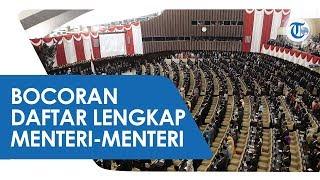 Bocor lewat Whatsapp, Susunan Kabinet Baru Jokowi: Dianggap Sudah Terpental, Nama Luhut Muncul Lagi