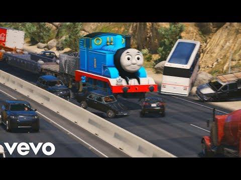 當湯瑪士小火車出現在gta5裡
