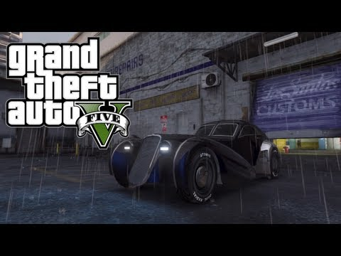 "GTA 5 - Truffade Z-Type Gameplay! - RARE ""10 MILLION DOLLAR CAR"" Gameplay & More! (GTA V)"