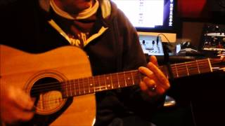 """How to play """"Vicious Circles"""" by Aaron Lewis: Acoustic Guitar Lesson"""