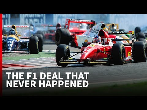 The mystery of Jean Alesi's Williams F1 contract