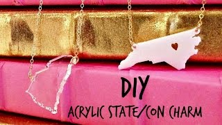 DIY Easy Acrylic Charm