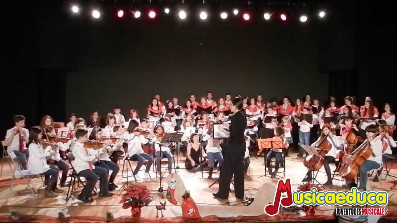 Auld  Lang Syne  - Orquesta y Coro Musicaeduca - Juventudes Musicales