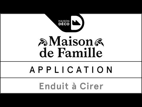 Tuto déco - Application de la base à cirer