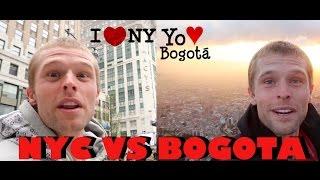 Entre Nueva York y Bogotá cual prefieres?