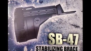 How To Install The SB-47 Stabilizing Brace