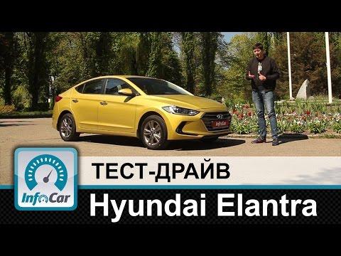 Hyundai  Elantra  Седан класса C - тест-драйв 2