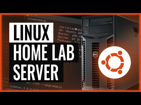 Let's build a home lab server from scratch with Ubuntu Linux, OpenZFS and KVM