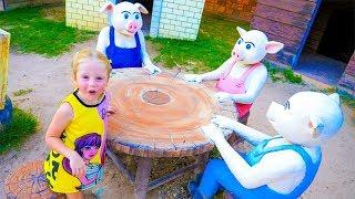 Самые популярные сказки для детей в парке развлечений Popular fairy tales for children in the park