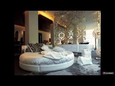 Круглая кровать 38 вариантов