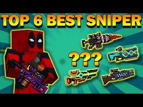 TOP - 6 BEST SNIPER RIFLE | Pixel Gun 3D [New Update 2019 apk]