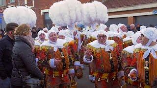 Les Gilles du carnaval de Leval – 2018