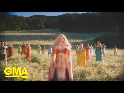 First look at Katy Perry's new music video for 'Never Really Over' l GMA