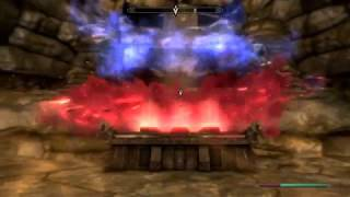 Skyrim Выживание Амулет Голдура, святилище Периайта, кратер Драконий зуб Серия 66