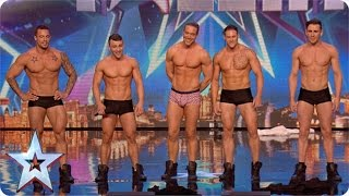 Why Hello Boys! Feeling A Bit Hot Under The Collar Are We? | Britain's Got More Talent 2015