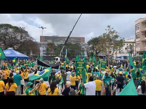 Dia da Independência é marcado por protestos na Região Serrana do Rio