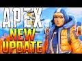Apex Legends Season 2 Update Patch Notes! Weapon Buffs + Map Changes + Character Buffs + Wattson